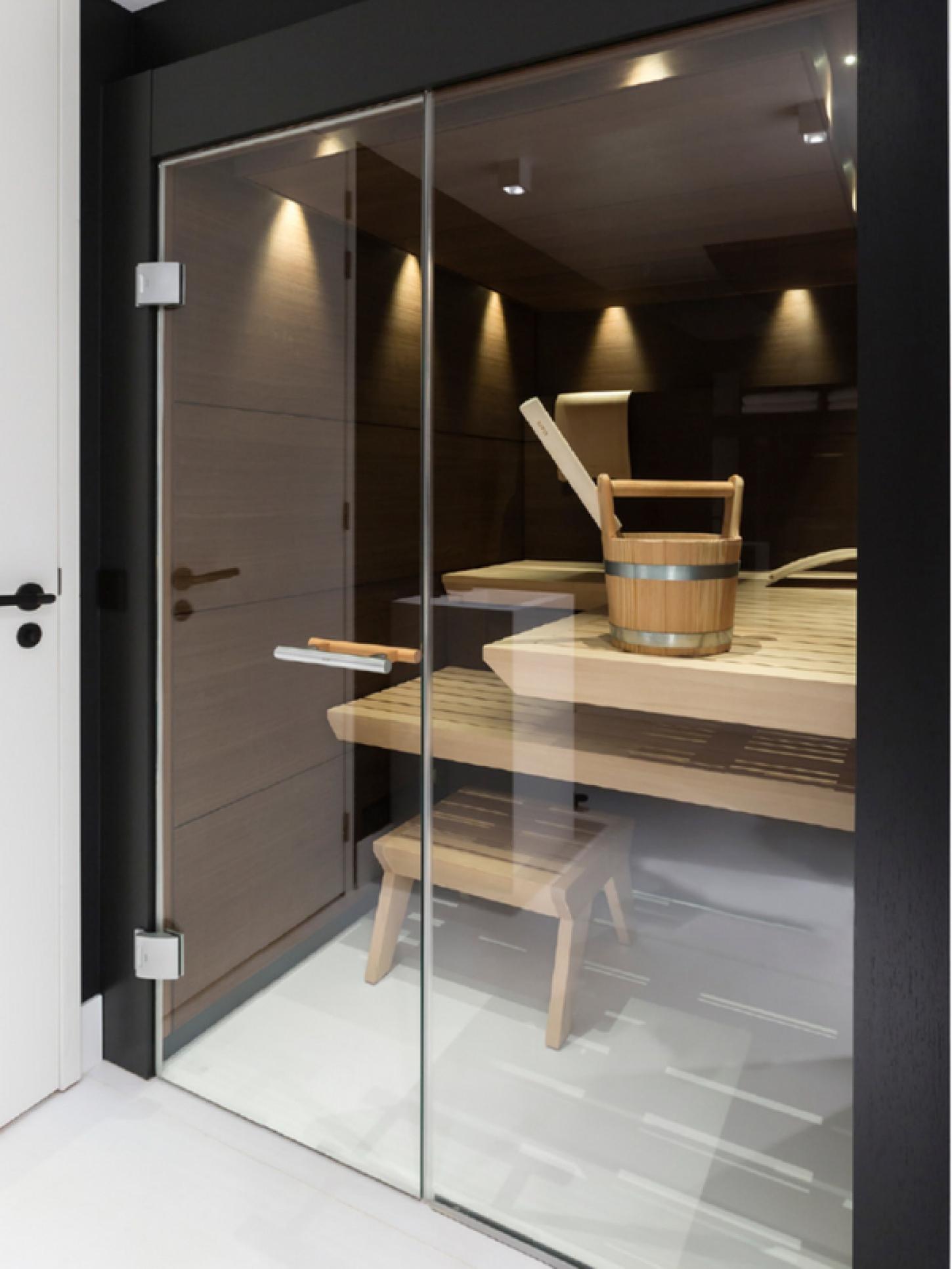 Sauna Op Maat Perfect Geïntegreerd In Uw Woning